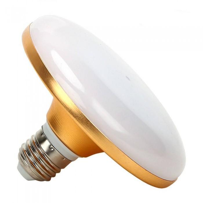 UFO bulb 10w E27 LJM-FD-B-12 Gold