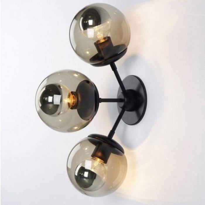 Wall Glass Lamp BK2027-W-3L