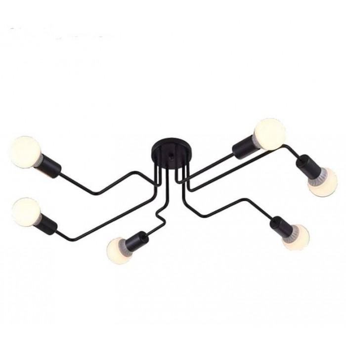 Pendant Iron Lamp BK1165-C-6L