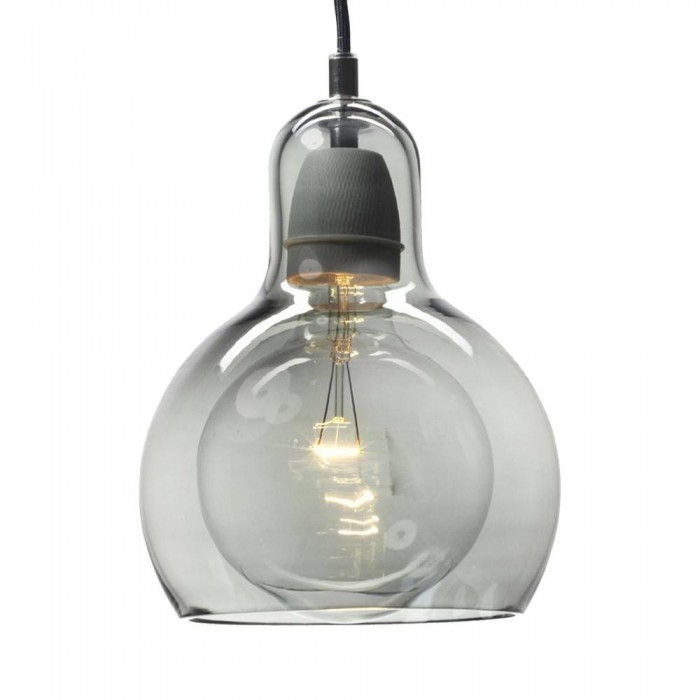 Pendant Glass Lamp BK2001-P-S SMOKEY GREY dia.11cm*H14.5cm