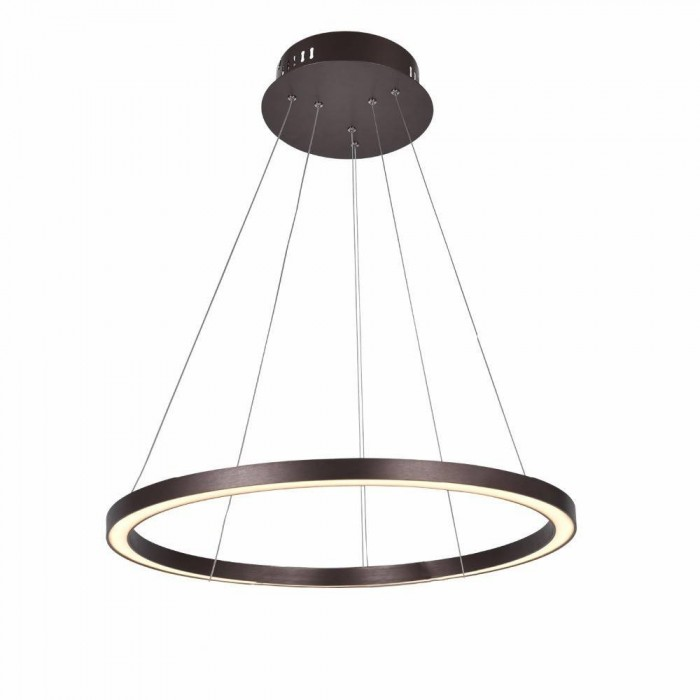 Round Pendant ACRILYC 9608 (50W / 4000K / COFFEE / 800mm)