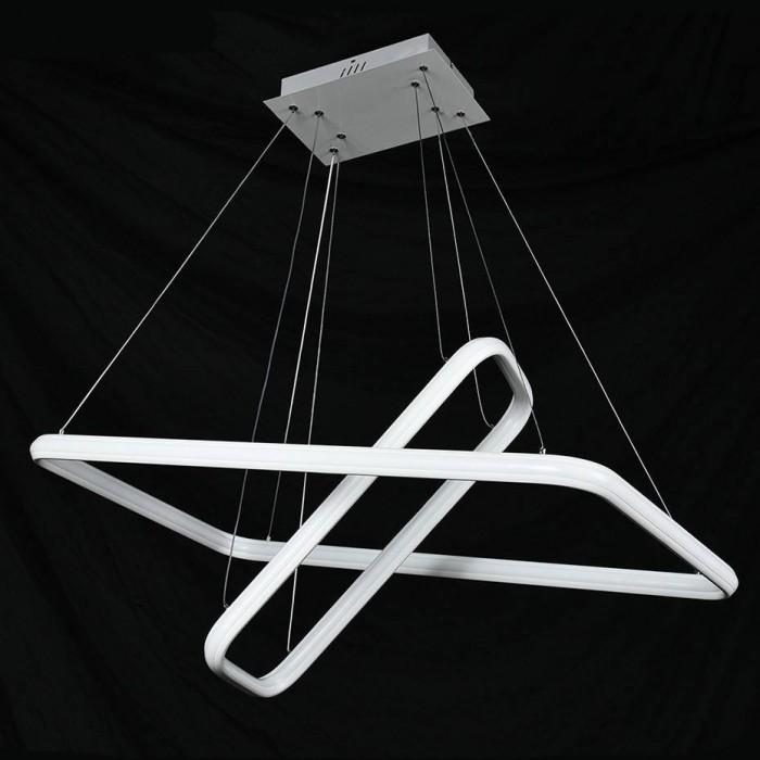 Square Pendant ACRILYC 9805 (90W / 6000K / WHITE / 800*450mm)