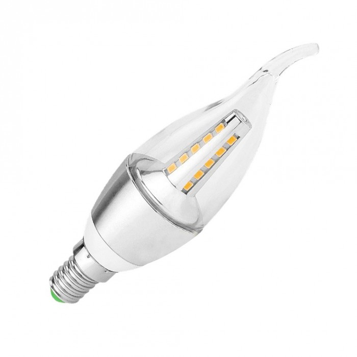 Candle Light 5W 2700K SMD2835 E14 BL-CA-1 Flame glass